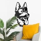 German Shepherd Wall Art in Situ in the Home