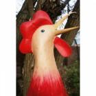 """""""All in One Basket"""" Giant Chicken Garden Sculpture"""
