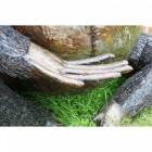 """General Godfrey"" Eastern Mountain Gorilla Garden Sculpture"