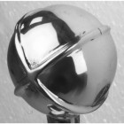 Bright Chrome Globe Garden Tap