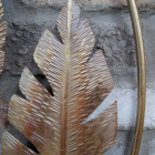 Close-up of the Gold Colour on the Leaves