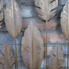 Close-up of the Detail on the Leaves