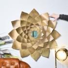 Golden Flower Mirror to Scale