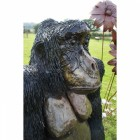 """Lady Thombury"" Cross River Gorilla Garden Sculpture"