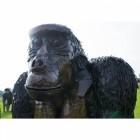 """""""Sir Greythwaite"""" Eastern Lowland Gorilla Garden Sculpture"""