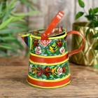 Traditional Watering Can Finished in Green