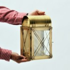 """""""Hampshire"""" Wall Lantern to Scale"""