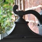 Ornate Top Fix Bracket on the Lantern