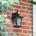Traditional Wall Lantern in Situ by the Front Door