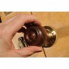 Hardwood Round Wooden Door Knobs