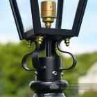Harrogate Driveway Victorian Lamp Post and Lantern