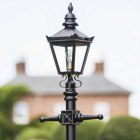 close up image of Harrogate lantern