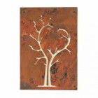 """Heart Tree"" Wall Art in a Rustic Iron Finish"