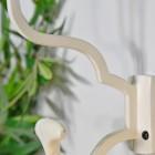 Close up of 'Madame Anouk' Cream Hook