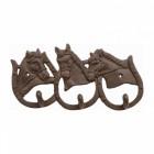 'Pony Club' Horseshoe Coat Hooks