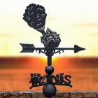 Weathervane with House of Balloon Topper