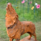 Howling Wolf Sculpture