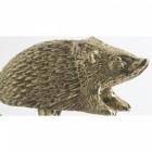 Polished Brass Hedgehog Garden Tap