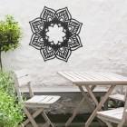 Mandela Wall Art in Use in the Garden