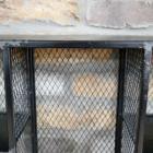 Close-up of the Rustic Black Fiinish