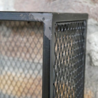 Close-up of the Black Rustic Finish