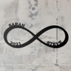 Personalised Named Infinity Wall Art