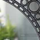 Iron Bridge Shelf Bracket - Small 22 x 22cm Close Up