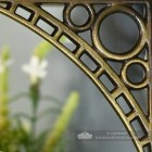 Iron Bridge Small Antique Brass Finish - Small 22 x 22cm Close Up