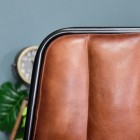 Close-up of the Back of the Dining Chair