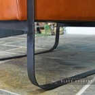 Black Iron Legs on the Chair
