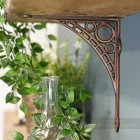 Ironbridge Design Dark Copper Wall Bracket