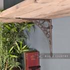 """Ironbridge"" Shelf Bracket in Situ Holding up a Wooden Shelf"
