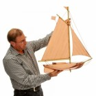 Weathervane - Polished Copper - Sail Boat