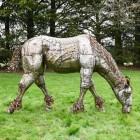 Iron Horse Garden Sculpture