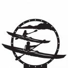 Kayak Weathervane Top