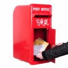 King George Rex Red Period Post Box