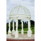 """The Imperial Adariani"" Gazebo Finished in a French Cream"