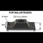 Black landing bracket