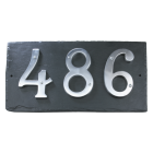 Slate Effect Number Sign
