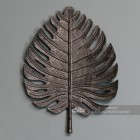 Large Black Palm Leaf Ornamental Wall Art