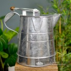 Side View of the Large Traditional Unpainted  Buckby Watercan