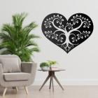 Tree Heart Wall Art in Situ