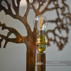 Large Tree of Life Rustic Table Lamp Bulb Holder