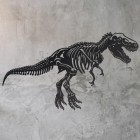 Wall Art of Large T-Rex