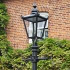 Victorian Lamp Post - Black - Lantern Head