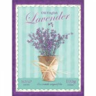 Traditional Old English Lavender Soap Metal Sign