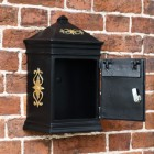Wall Mounted lockable letter box