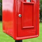 Space on the Front of the Post Box for Signs