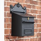 Black Goldhay Post & Parcel Box