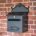 'Espresso' Black Goldhay Post Box & Parcel Box